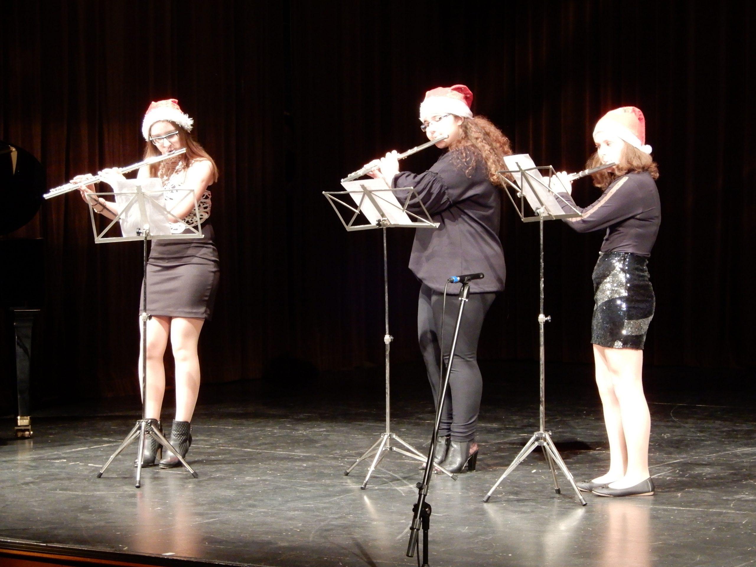 Glasbena šola Hrastnik - Trio flavt