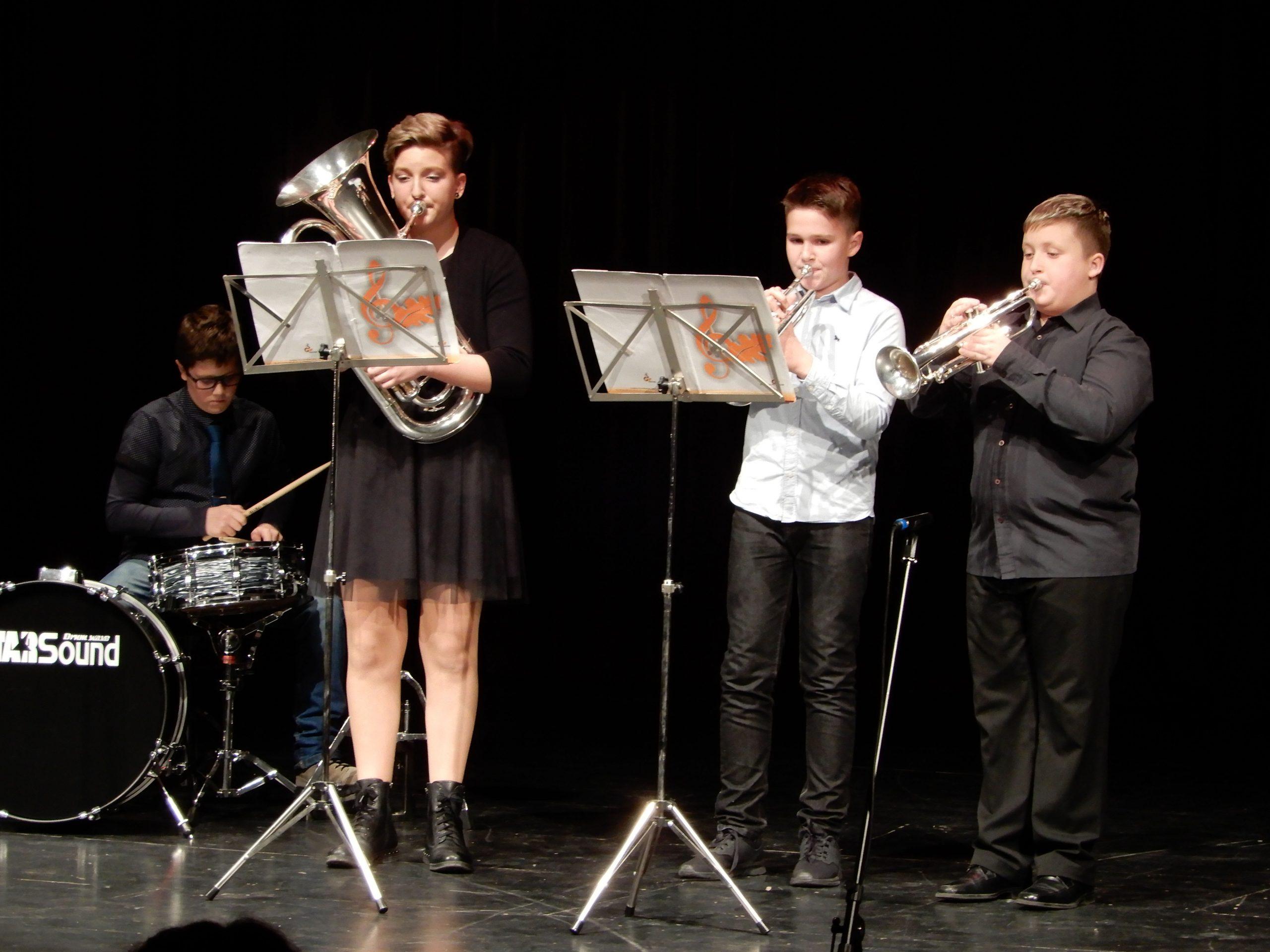 Glasbena šola Hrastnik - Trobilni trio